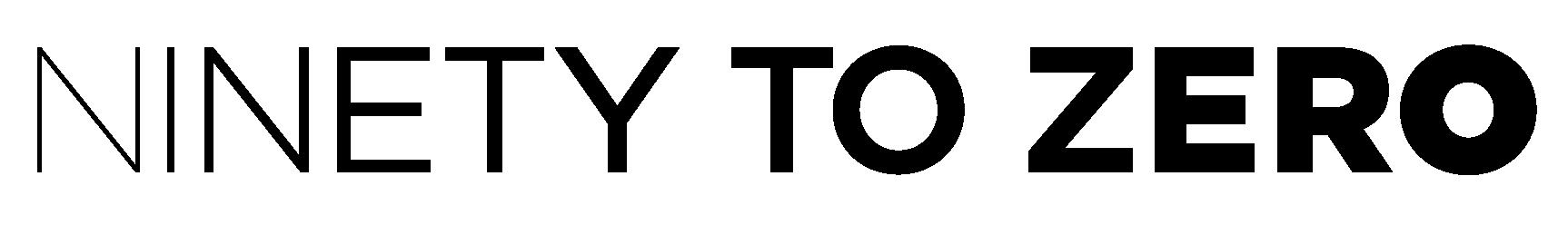 Ninety To Zero Logo